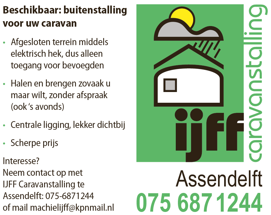 IJffcaravanstelling
